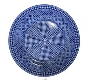 assiette-porcelaine-bleue