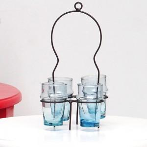 porte-verres-en-fer-avec-4-verres